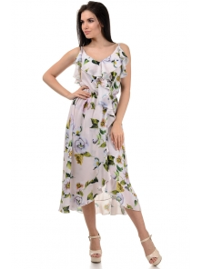 Платье «Рианна», р-ры S-L, арт.365 яблоня пудра