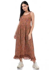 Платье «Молли», р-ры S-L, арт.454 карамель