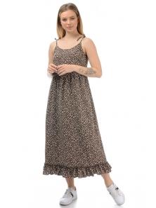 Платье «Оливия», р-ры S-L, арт.439 коричневый