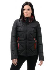 Куртка «Тайма», 44-50, арт.324 черный-красный