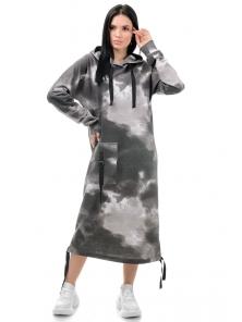 Платье «Фрида», р-ры S-ХL, арт.426 графит