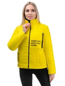 Куртка «Дабл», 42-48, арт.326 желтый-черный