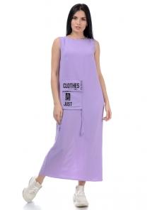 Платье «Дести», р-ры S-ХL, арт.442 лаванда