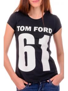 Футболка женская синяя Tom Ford