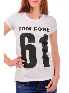 Футболка женская белая Tom Ford